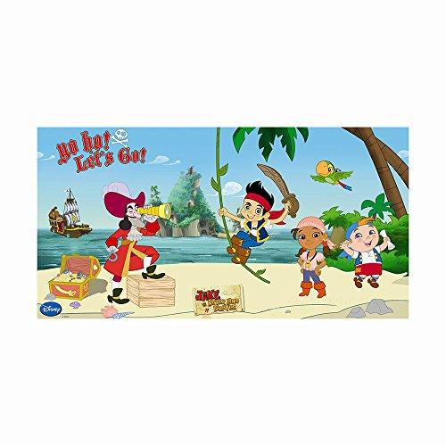 Disney Unique Party Yo Ho Jake und die Nimmerland Piraten Scene Setter Wand-Dekoration, 5m x 2,5m (Jake Nimmerland-party Und Die)