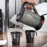 VonShef Travel Kettle with 2 Cups - Portable and Compact Design - 0.5L