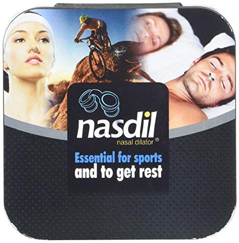 Dilatador nasal Nasdil con filtro, antipolvo. Respirar bien y antialérgico. Deportes al aire libre