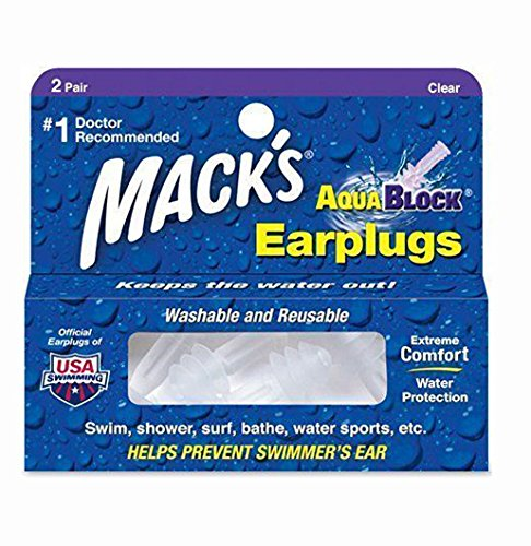 macks-swimming-ear-plugs-macks-aquablock-earplugs-clear-2-pairs