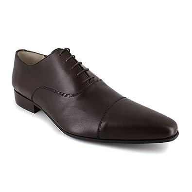 J Bradford Richelieu Brown Leather JBCaramelo  Colour  Brown