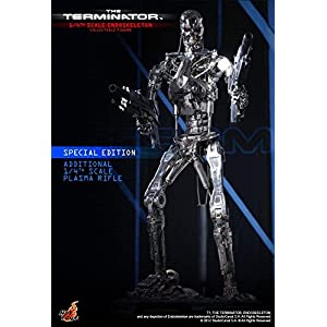 Hot Toys The Terminator - T-800 Endoskeleton Special Edition Ver. 1/4 Scale Figure 11
