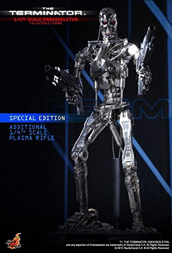 Hot Toys The Terminator - T-800 Endoskeleton Special Edition Ver. 1/4 Scale Figure 1