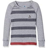 Odlo–Camiseta ML God Jul niño, Color Gris, tamaño Medium