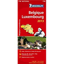 Carte NATIONALE Belgique Luxembourg 2013 n°716