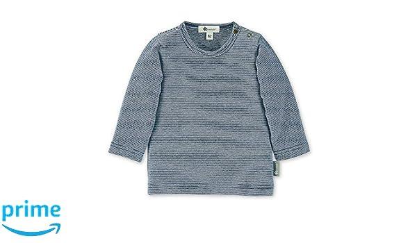 Sterntaler Langarm-Shirt mit Streifenmuster, Marine Blau