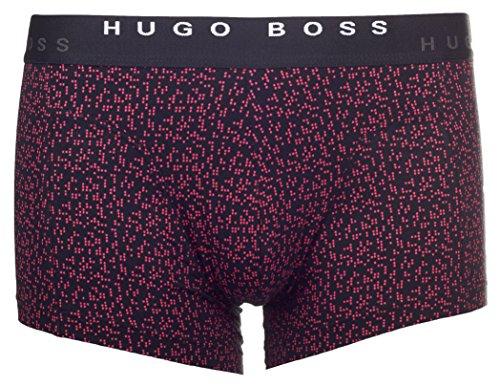 """BOSS Hugo Boss Herren Boxershorts """"Trunk 2P Print"""", 2er Pack Rot (Open Red 640)"""