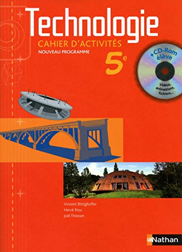 Technologie 5e : Cahier d'activits (1Cdrom)