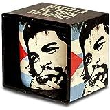Che Guevara - Cuban Flag Porzellan Tasse - Kaffeebecher - schwarz - Lizenziertes Originaldesign - LOGOSHIRT
