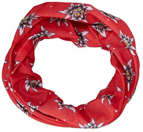 Ultrasport foulard multifunzione in microfibra indossabile in almeno 12 modi, in 6 diversi motivi, rosso fiori