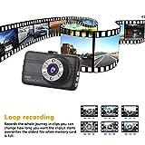 GZDL Full HD 1080P Mini Dash Cam Car Blackbox Car Cams DVR Dashboard Camera Built in G-Sensor Motion Detection Loop Recorder Night Vision