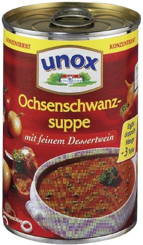 Unox Konzentrat Ochsenschwanz Suppe 3 Teller