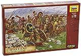 Zvezda 500788068 - 1:72 Historische Figuren-Set Spartiates