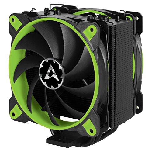 Preisvergleich Produktbild ARCTIC Freezer 33 eSports Edition - Tower CPU-Kühler mit Push-Pull-Konfiguration I 120 mm PWM Prozessorlüfter für Intel und AMD / PWM-Sharing-Technologie (PST) 200 bis 1800 U / min (Grün)