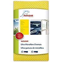 ALCLEAR 950015 Ultra Micofibre, Yellow, 40 cm x 45 cm - ukpricecomparsion.eu
