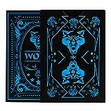 Meatyhjk Wolf - Juego de cartas de póquer (PVC, impermeable), diseño...