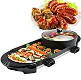 Maifan Stone Korean Multi Purpose Rinse And Baked One Pot Electric Hot Pot Electric Barbecue Household Electric Baking Pan Korean