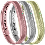 Tkasing Bands Compatible with Fitbit Flex 2 Fitness Tracker,Adjustable Wrist Band Replacement for Fitbit Flex