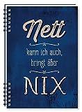 Grafik Werkstatt 47017 Notizblock A5 Nett Kann ich auch, bringt aber Nix