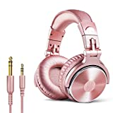 OneOdio Over Ear Headphones Closed Back Studio DJ Headphones for Monitoring, Adapter Free, Noise Isolating