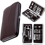 Kushagra Novax 12 In 1 Stainless Steel Manicure/Pedicure Set For Men Or Women