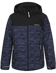 ICEPEAK Niños chaqueta Romy Jr, otoño/invierno, infantil, color azul, tamaño 164