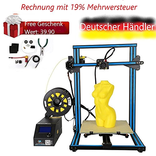 Creality 3D CR-10S 3D Printer 19% REFUND for bussines customers with VAT nummber