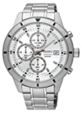 Seiko Men's Chronograph Special Value Stainless Steel Bracelet Watch SKS573