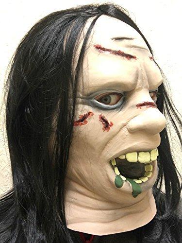 Regan Exorzist Film Maske Halloween Latex Kopf Hals -