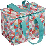 Insulated Lunch Bag - Choice of Design (Multicolour Geometric)