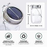 SONNENGLAS® Solarlampe / Solar-Laterne im Einmachglas - 4