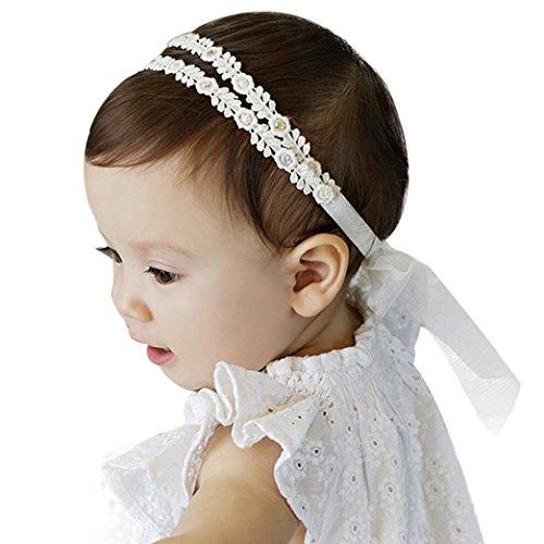 Stirnbänder Transer® Baby Unisex Stirnband Halten Kopf Spitze Sterne Haarband Babyschmuck Babygeschenke & Taufe Größe: Im Alter von 1,5-5,5 Jahre alt