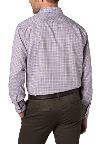 ETERNA long sleeve Shirt COMFORT FIT Twill checked Lilla