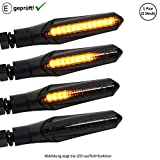 LED Blinker kompatibel mit Honda VT 750 C Black Widow, X4 / VT 600 C Shadow (E-Geprüft / 2Stück) (B1)