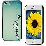 VCOER iPhone 5/5S Dekoration Hülle PC Case Schutzhülle Protection Case Protective Cover bunte Dekoration Design-Muster