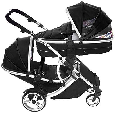 Kids Kargo Geschwisterwagen Tandem für zwei Babys
