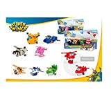 SUPER WINGS Box SET 4 Figure TRASFORMABILI