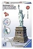 Ravensburger - 12584 - Puzzle 3D - Statue La Liberté - 108 Pièces