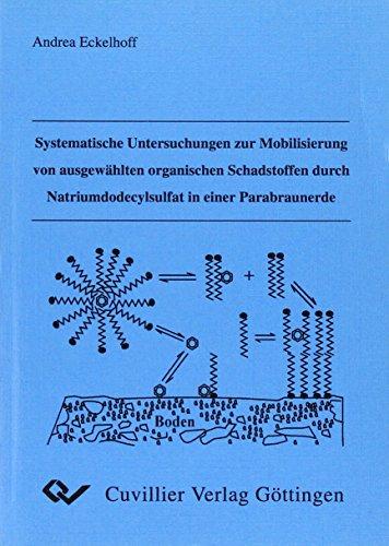 Systematische Untersuchungen zur Mobilisierung von ausgewählten organischen Schadstoffen durch Natriumdodecylsulfat in einer Parabraunerde.