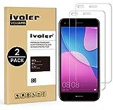iVoler [Pack de 2] Verre Trempé pour Huawei Y6 Pro 2017 / Huawei P9 Lite Mini, Film Protection en Verre trempé écran Protecteur vitre