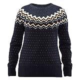 Fjällräven Damen Övik Knit Pullover, Dark Navy, XS