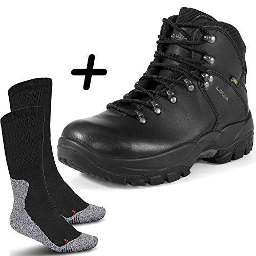 LOWA Leandro Work GTX S3 Herren Sicherheitsstiefel Gore-Tex mit Perfect Fit Socke