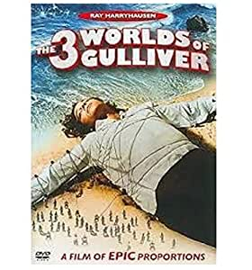 3 Worlds of Gulliver [DVD] [1960] [Region 1] [US Import] [NTSC]