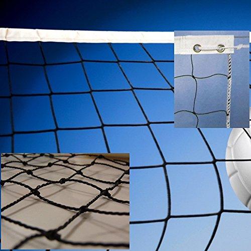 Red de voleibol modelo escolar. Polietileno torcido 2mm ø