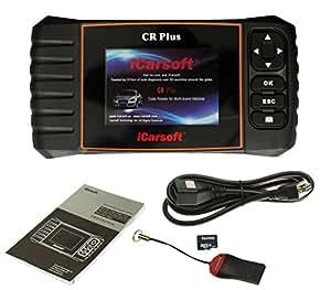 Adapter-Universe® iCarsoft CR Plus OBD2 CANBus universel appareil de diagnostic écran couleur