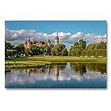 Calvendo Leinwand Schlosspark von Schwerin in