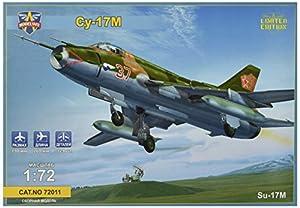 Modelsvit msvit72011-Maqueta de sukhoi de 17m Soviet Fighter de Bomber, Gris