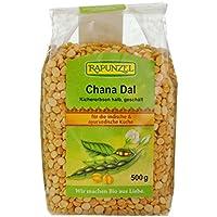 Rapunzel Chana Dal, Kichererbsen halb, geschält,1 Pack (500 g)