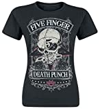Five Finger Death Punch Wicked Girl-Shirt schwarz M