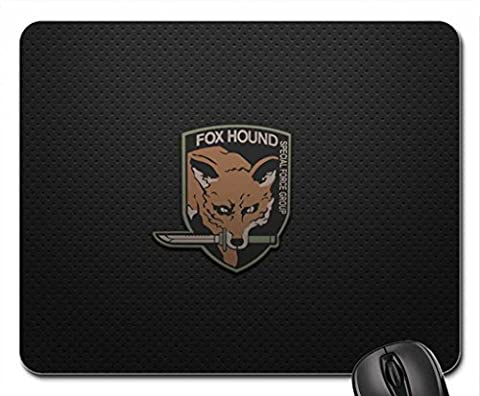 MGS Fox Hound Mouse Pad, Mousepad (10.2 x 8.3 x 0.12 inches)
